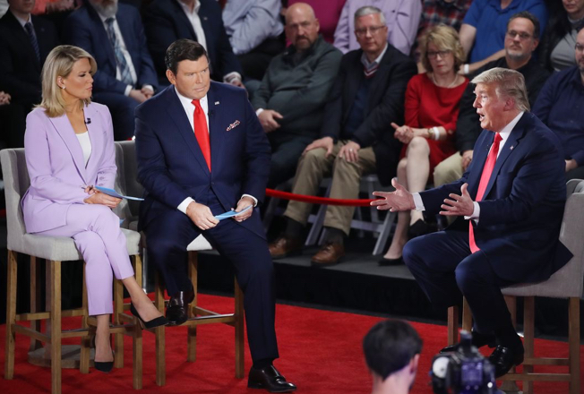 Fox News' town hall with President Trump was the most-watched election town hall in cable news history, according to early Nielsen media research.
