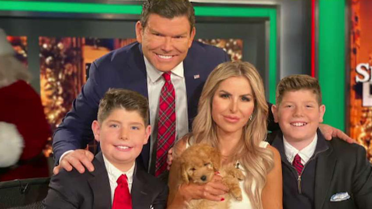 Bret Baier and family